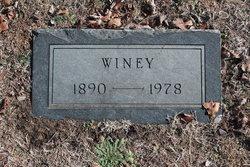 Winey <i>Lasley</i> Brown