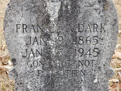 Frankie Ann <i>Dobbs</i> Dark