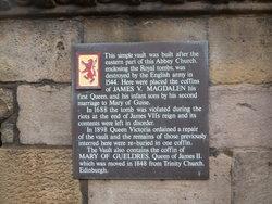 James King of Scots, V