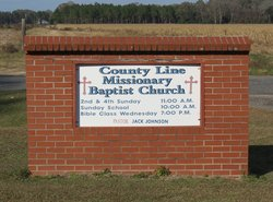 County Line Missionary Baptist Church Cemetery
