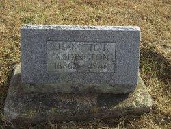 Jeannette Nettie <i>Clevenger</i> Addington
