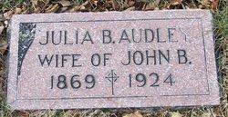 Julia B Audley