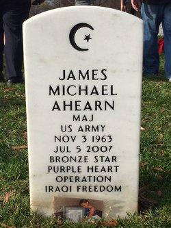 Maj James Michael Ahearn
