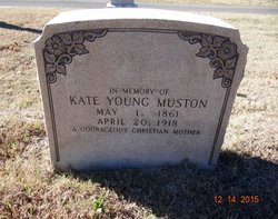 Catherine Price Kate <i>Young</i> Muston