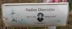 Nadine <i>Wilson</i> Dinwiddie
