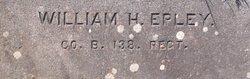 Pvt William Henry Epley