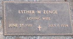 Esther Mary Zenge