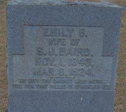 Emily B. <i>Clark</i> Baird