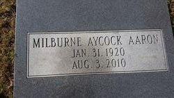 Milburne <i>Aycock</i> Aaron