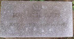 Marian H. <i>Tarnowski</i> Burke