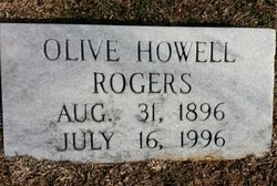 Olive <i>Ozley</i> Rogers