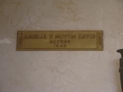 Amelia F <i>Noton</i> Davis