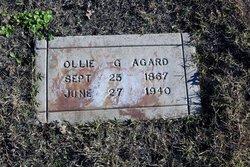 Ollie Geneva <i>Ellis</i> Agard