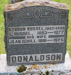 Gordon Russell Donaldson
