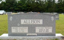 Gladys Eloise <i>Thomas</i> Allison