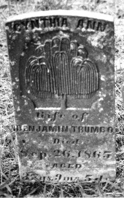Cynthia Ann <i>Riddle</i> Trumbo
