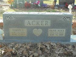 Olive Alice <i>Allen</i> Acker