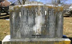 Martha Price <i>Whitmore</i> Alexander