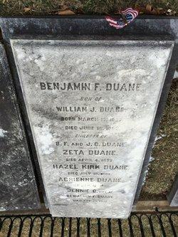 Benjamin Franklin Duane