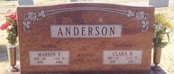 Marion F Anderson
