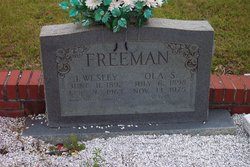 Ola <i>Shores</i> Freeman