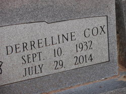 Derrelline <i>Cox</i> Raulston