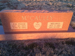 Mary Mildred <i>Brown</i> McCauley Alsup