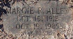 Margie R Allen