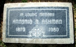 Antonio Robert Tony Ashman