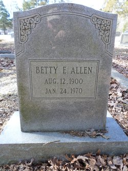 Betty Elizabeth <i>O'Berry</i> Allen