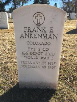 Frank E Ankenman