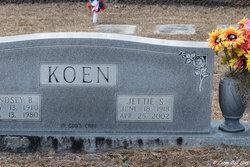 Jettie <i>Stanley</i> Koen