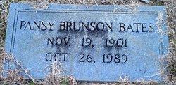 Pansey <i>Brunson</i> Bates