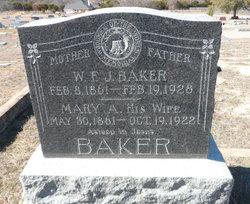 Mary Ann <i>Blackerby</i> Baker