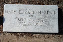 Mary Elizabeth <i>Hancock</i> Adair