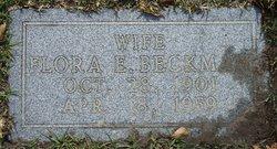 Flora <i>Childers</i> Beckman
