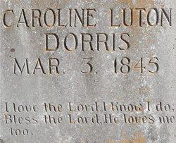 Caroline Isabella Carrie <i>Luton</i> Dorris