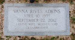 Vanna Lou <i>Rives</i> Adkins