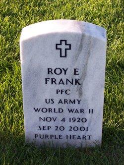 Roy E Frank