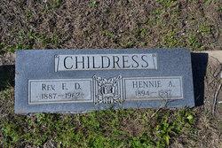 E D Childress