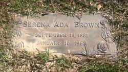 Serena Ada <i>Buford</i> Harness-Brown