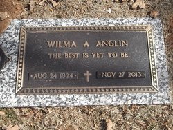 Wilma Alene <i>Sanders</i> Anglin