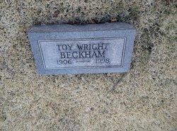 Toy <i>Wright</i> Beckham