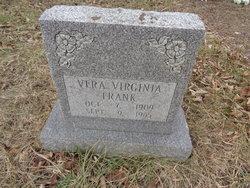 Vera Virginia <i>Bumphrey</i> Frank