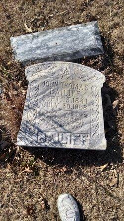 John Thomas Bailiff