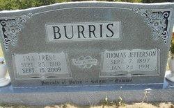 Ima Irine <i>Johnson</i> Burris