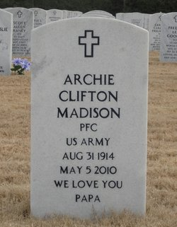 Archie Clifton Madison