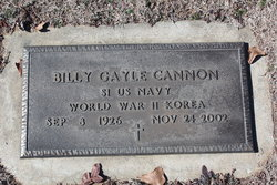 Billy Gayle Buddy Cannon