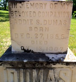 Addie S. <i>Goodman</i> Dumas
