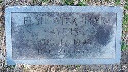 Elsie Beatrice <i>Vick</i> Ayers